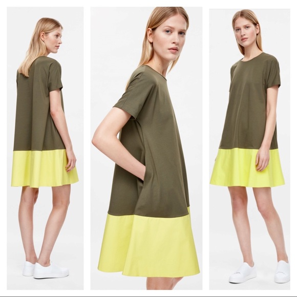 e69746c0c3 COS Dresses   Skirts - COS contrast panel dress